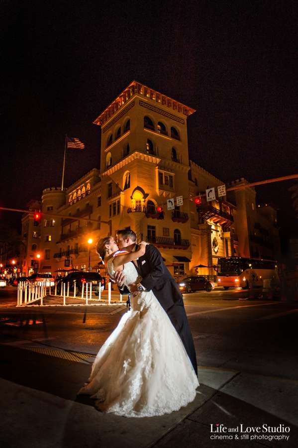 St. Augustine Wedding Planner coordinates Casa Monica Hotel wedding in downtown.
