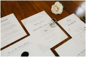 Winter wedding at Treasury on the Plaza, wedding planning by The Eventful Gals in St. Augustine