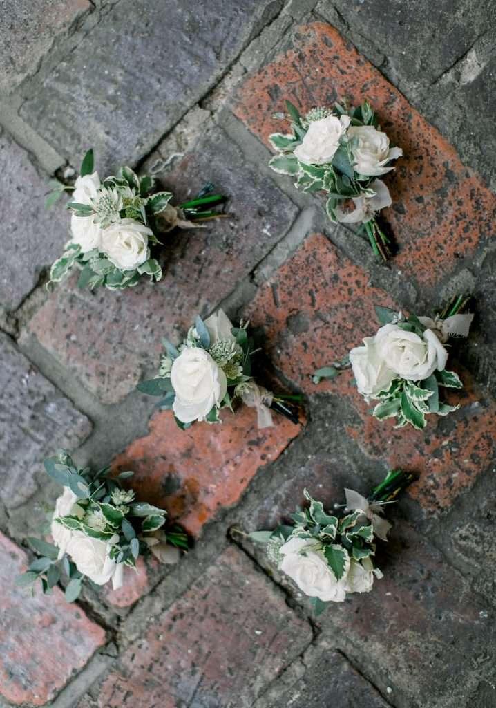 Floral for Ribault Club Wedding