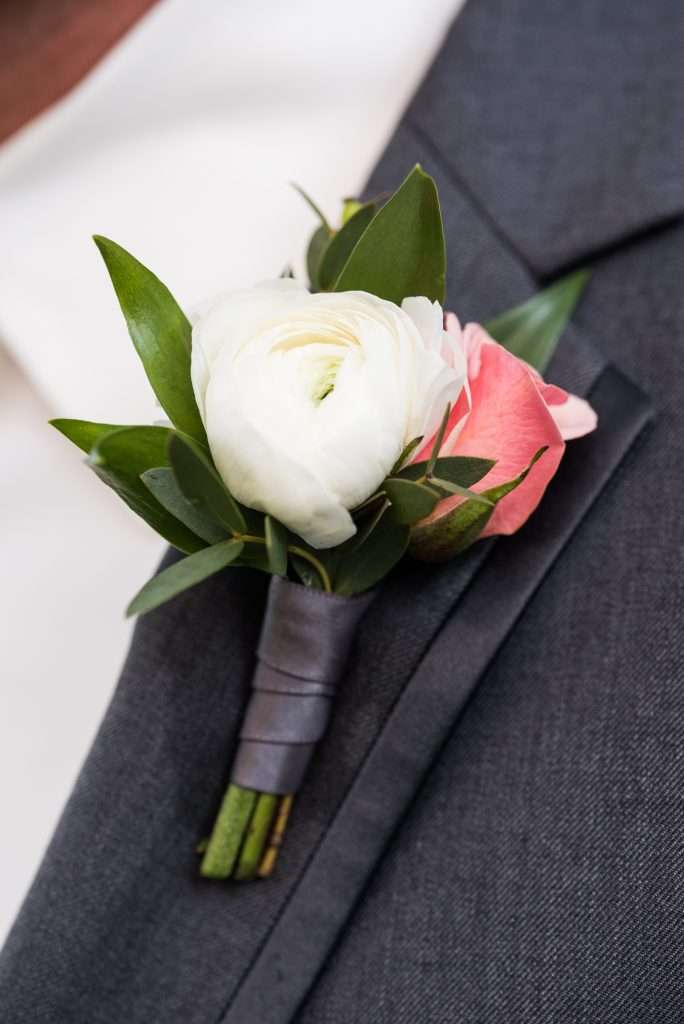 Groom details at Ribault Club wedding