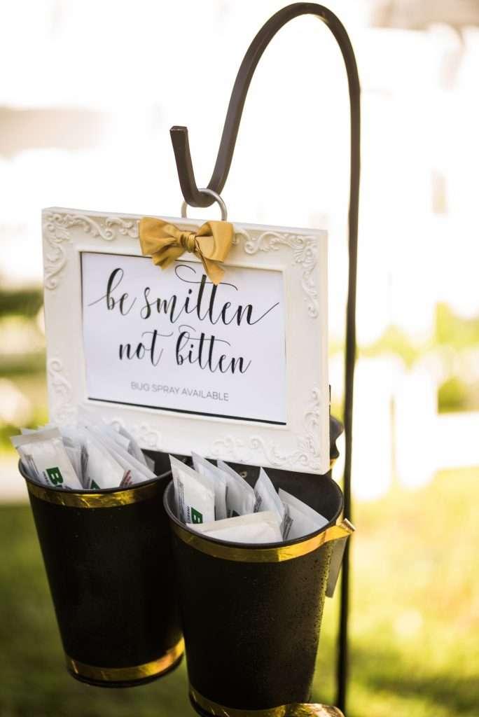 Wedding details at Ribault Club wedding