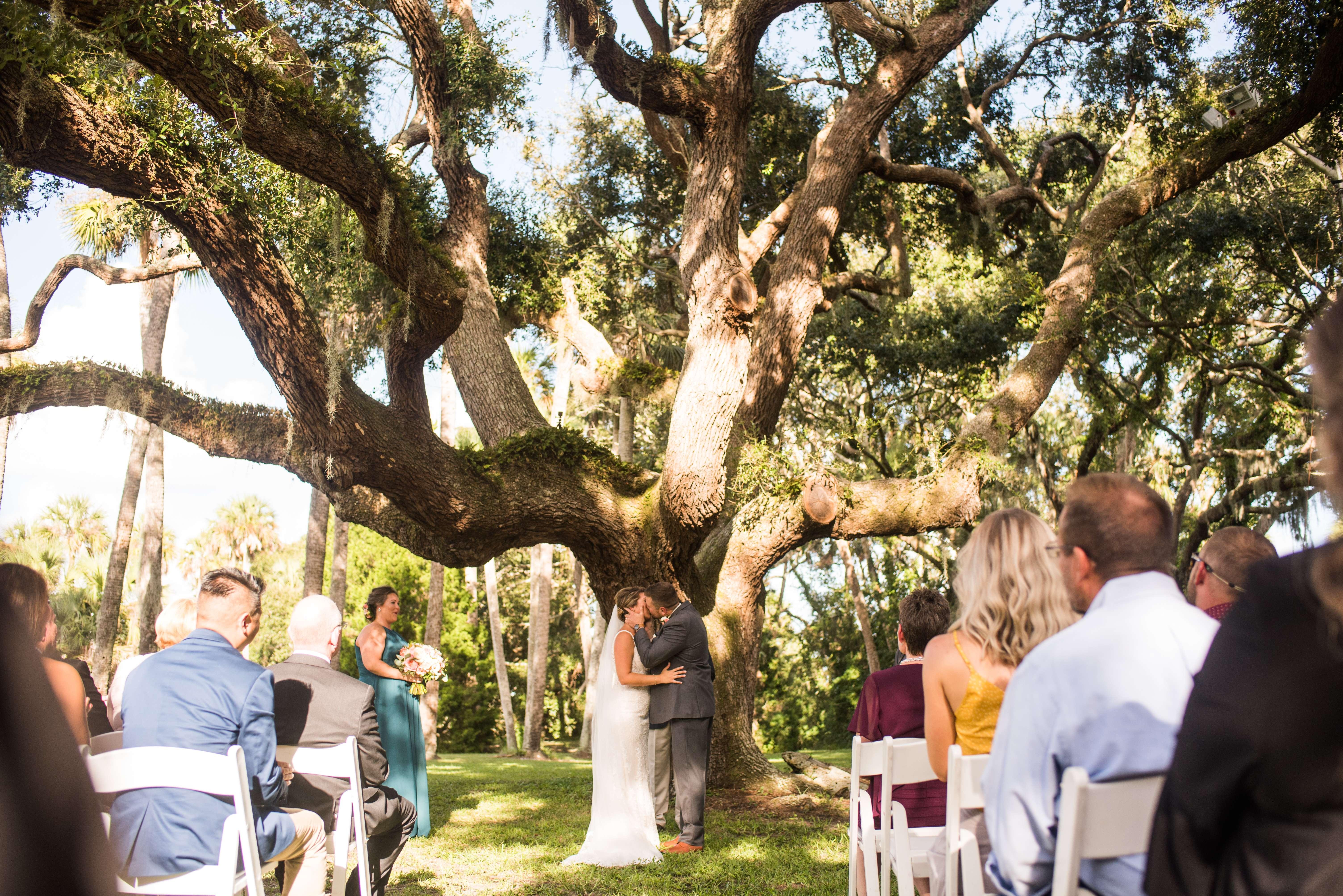 Ceremony at Ribault Club wedding