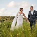 Bride and groom portraits at Ribault Club wedding