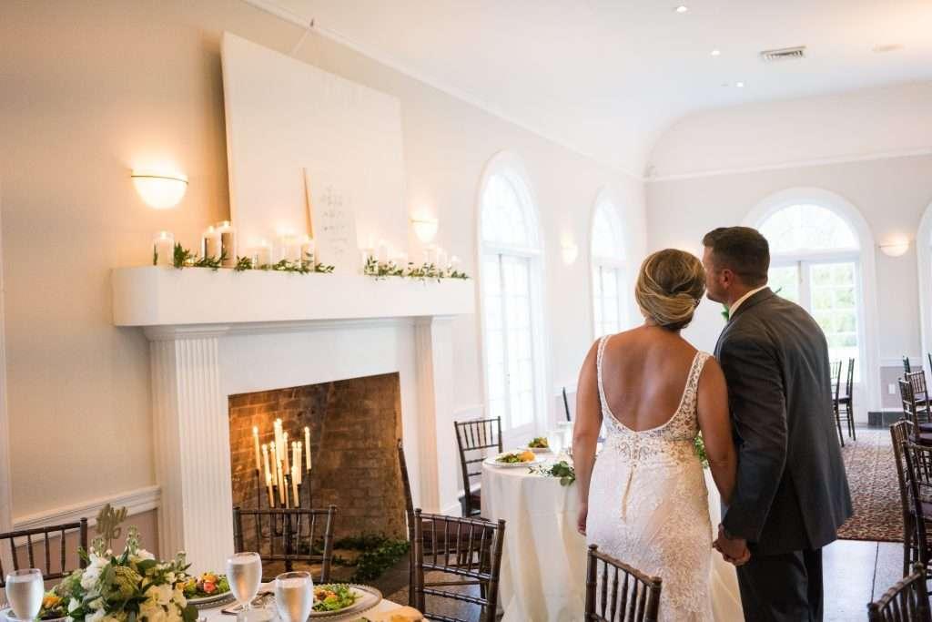 Bride and Groom RIbault Club wedding