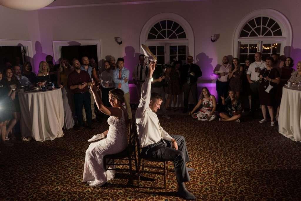 Reception at RIbault Club wedding