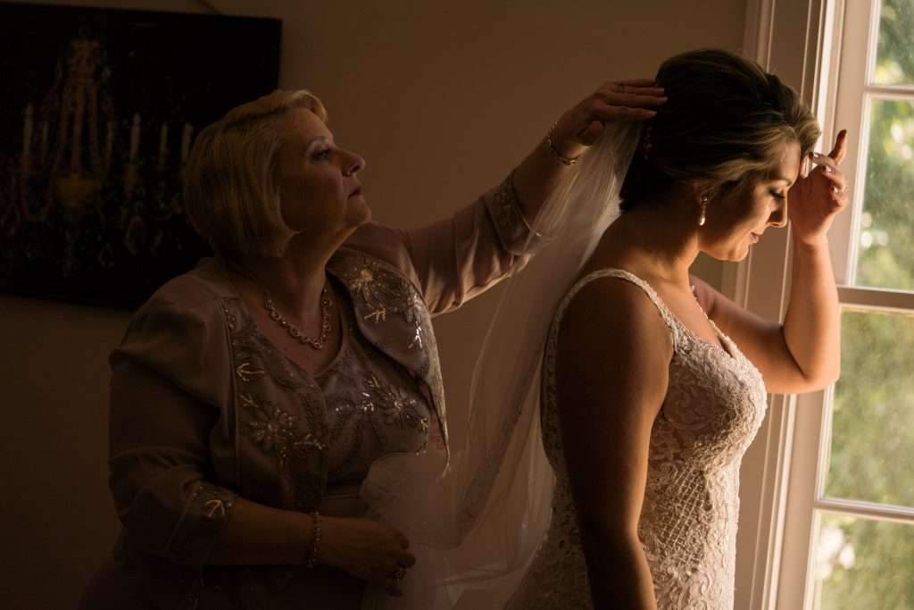 Bridal details at Ribault Club wedding