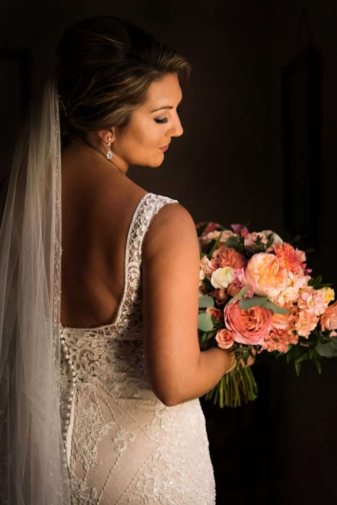 Bridal portraits at Ribault Club wedding