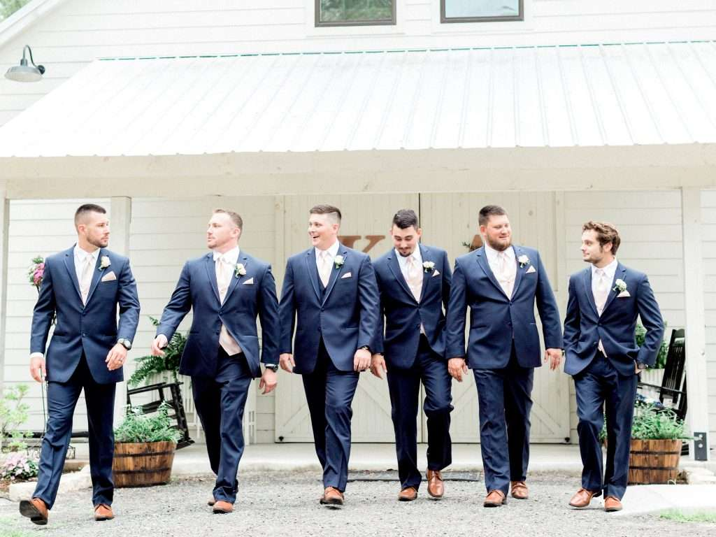 Groomsman at Chandler Oaks Barn