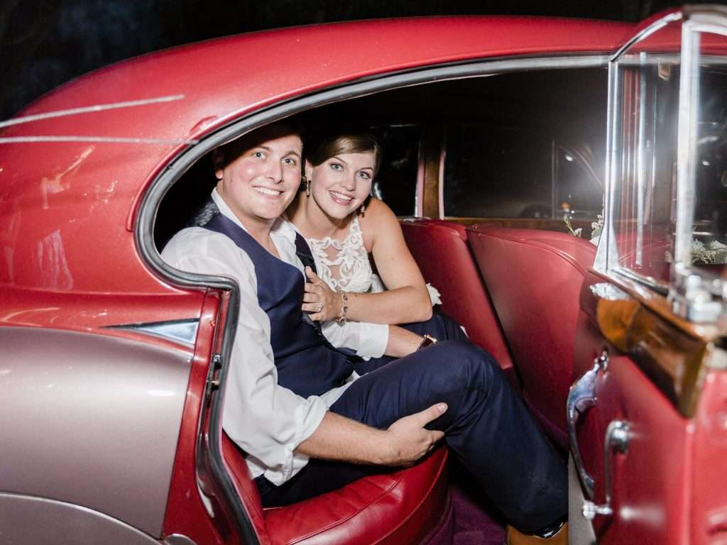 Classic Car getaway at Chandler Oaks barn