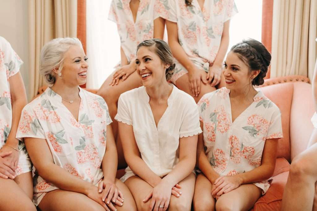 Bridesmaids Riverhouse wedding
