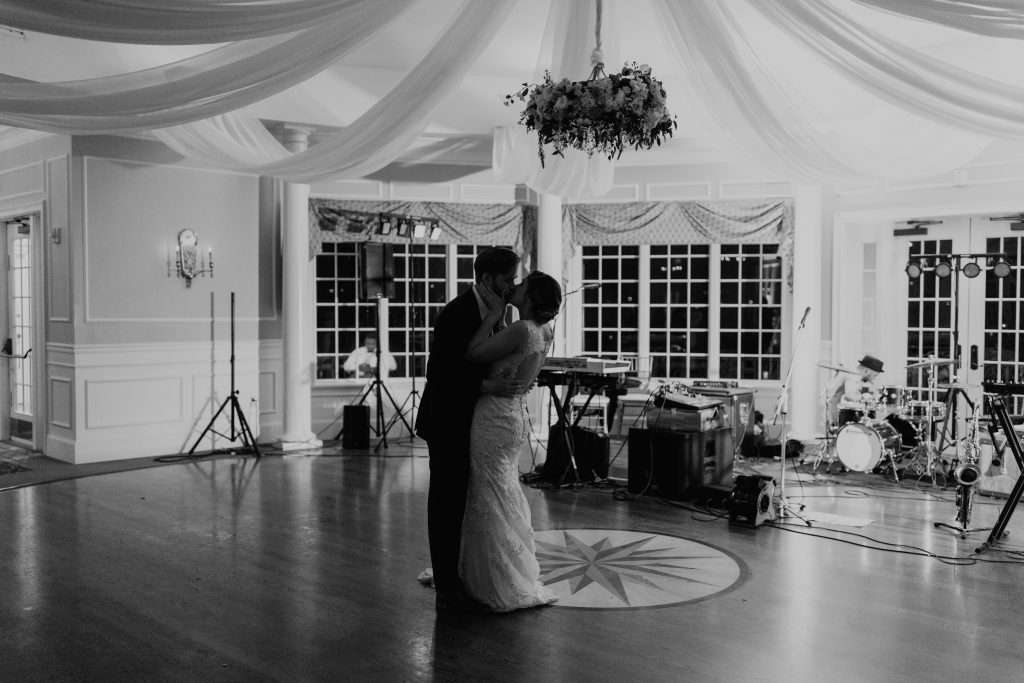 Private last dance at Riverhouse wedding