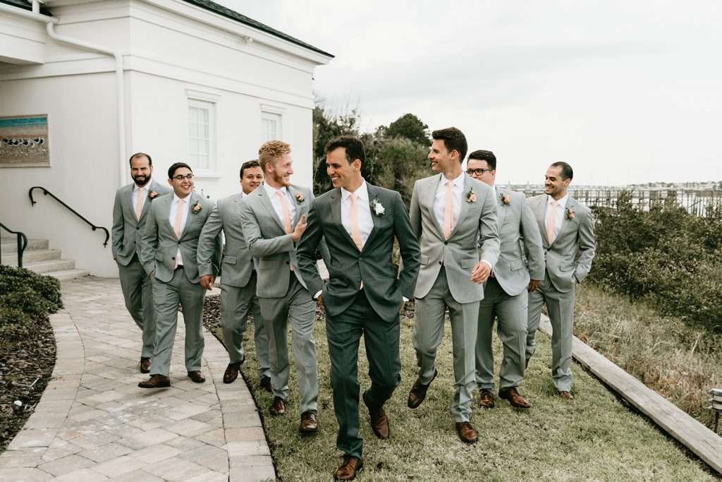 Groomsman at River House wedding