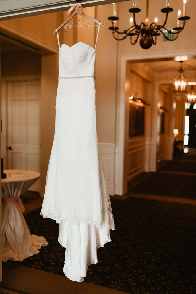 Wedding gown at River House events