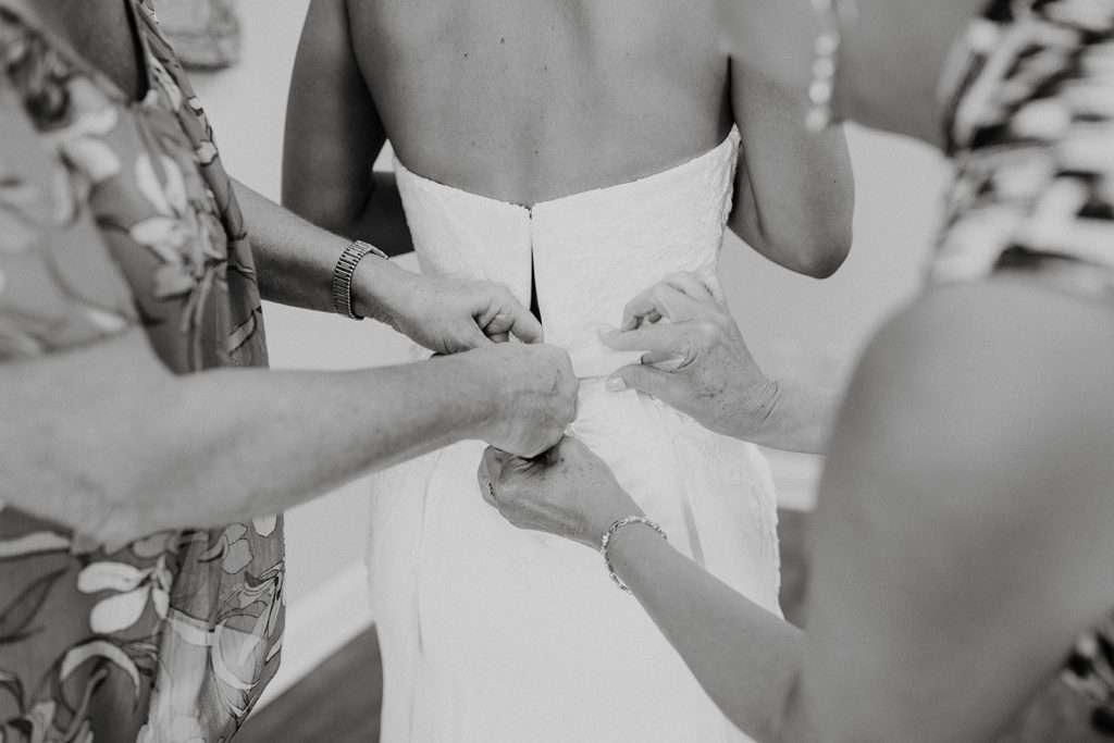 Bridal details at Riverhouse Events
