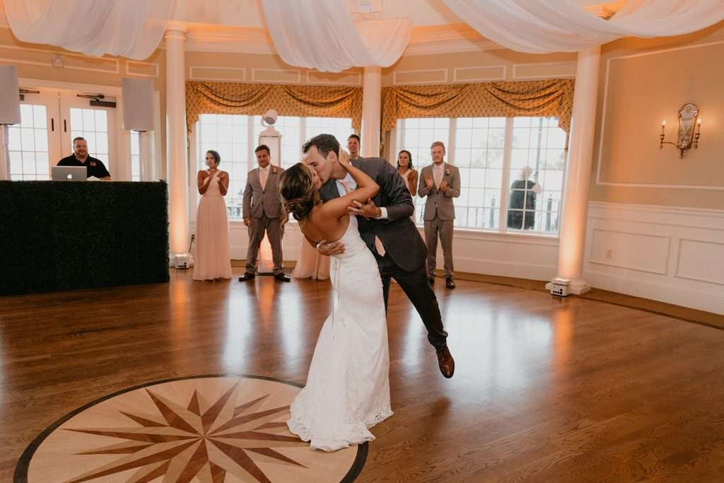First dance at River House wedding