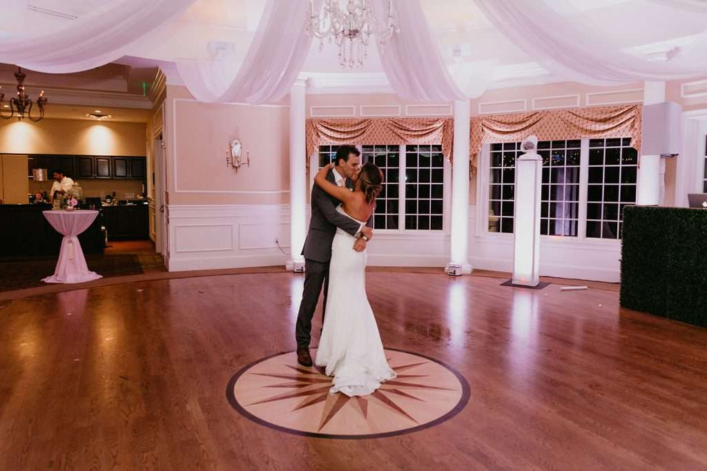 Private last dance at River House Wedding