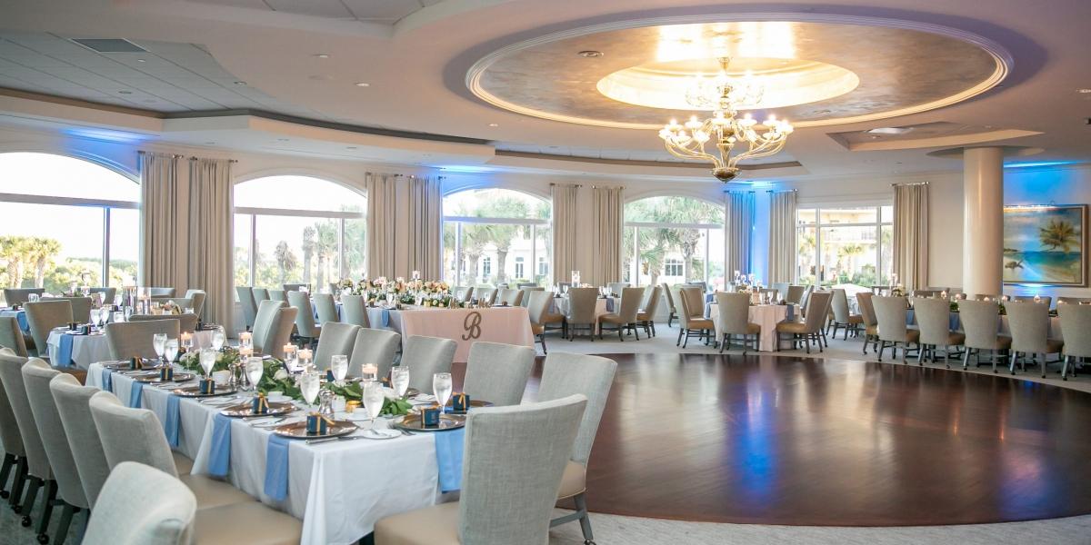 Hammock Dunes Club Wedding, The Eventful Gals, Indoor reception
