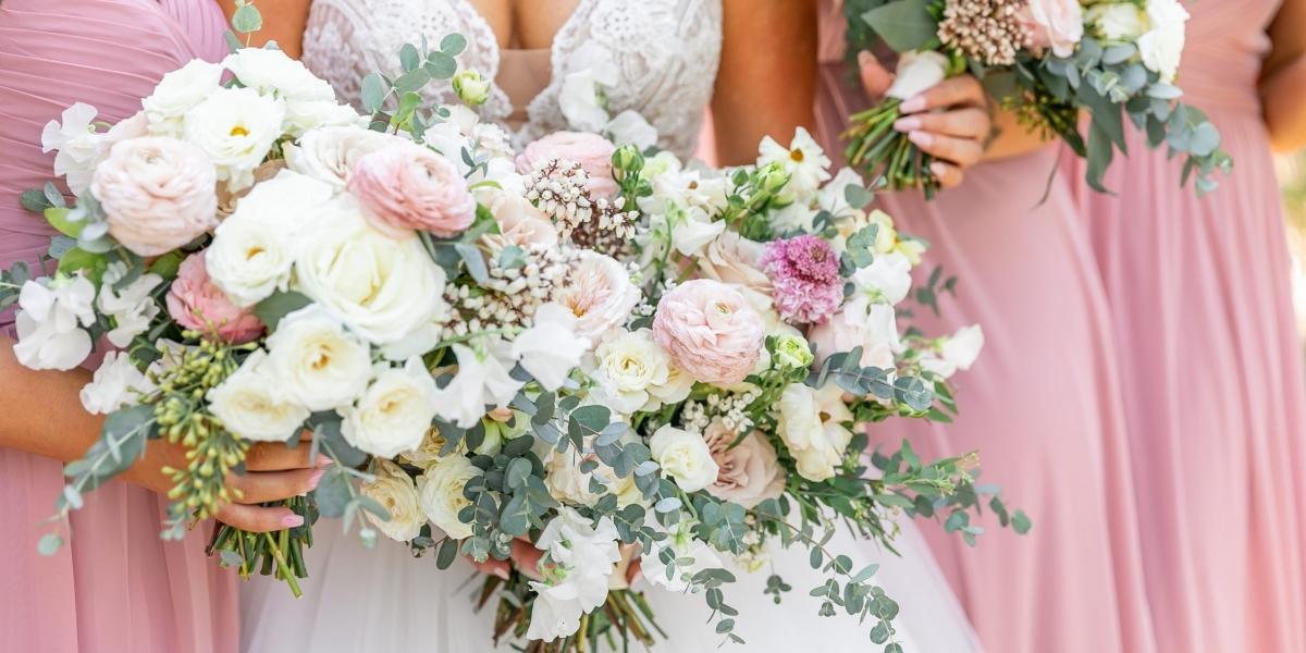 Bowing Oaks Plantation, Blush Wedding, The Eventful Gals