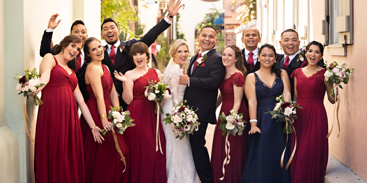 The White Room Wedding, The Eventful Gals, the White Room, Stout Studios, bridal party
